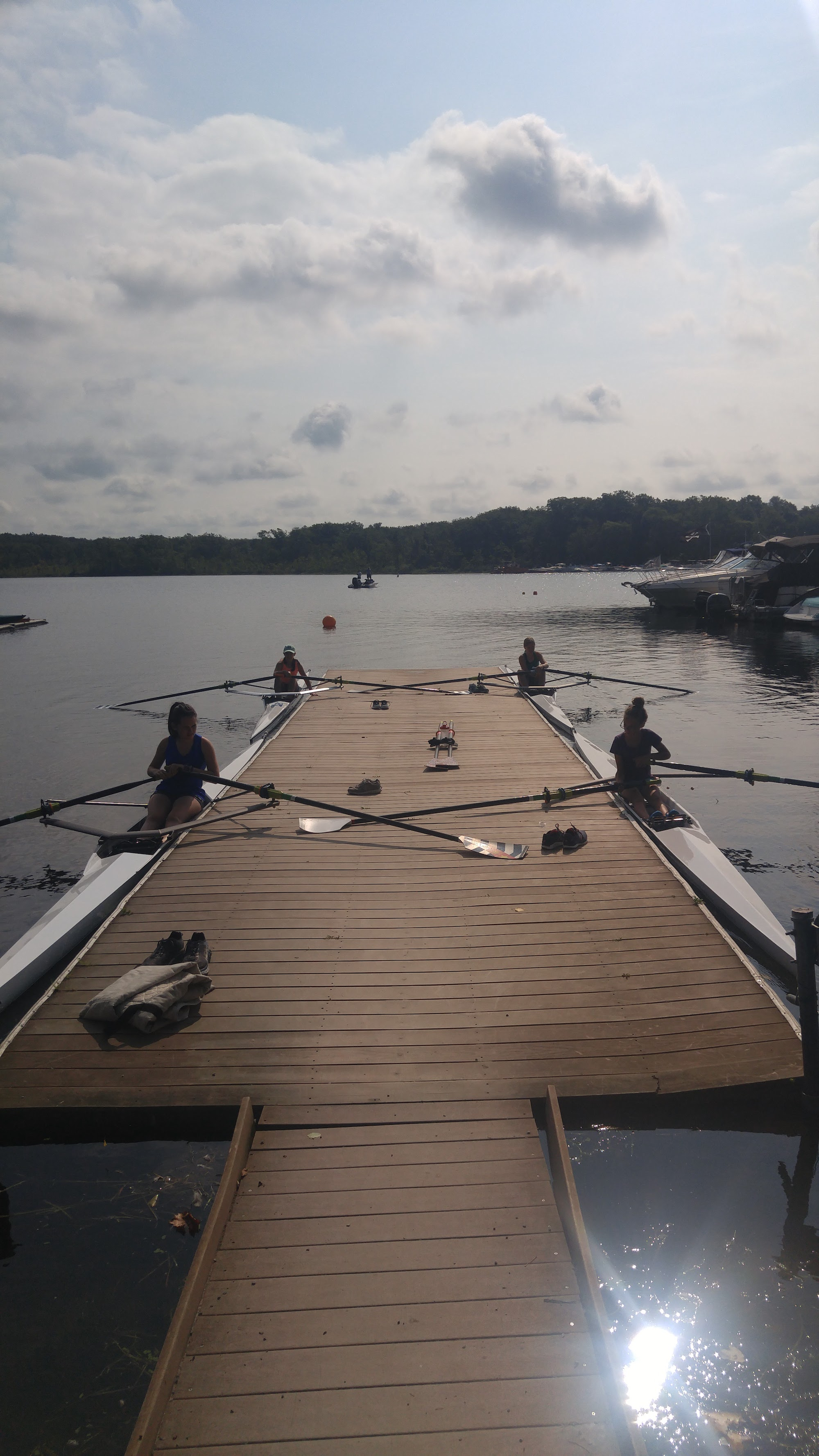 Youth Learn to Row
